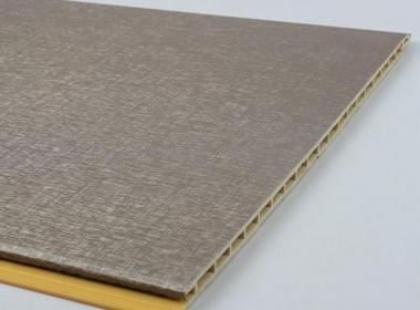 泸州布纹竹纤维环保墙板